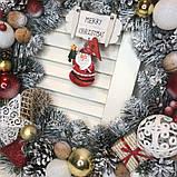 Новогодний венок  Санта, фото 5