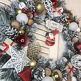 Новогодний венок  Санта, фото 6