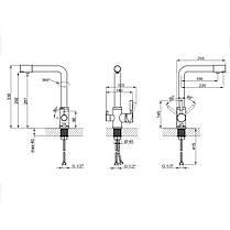 Смеситель для кухни с фильтром Lidz (CRM) 200 32 022 00, фото 2