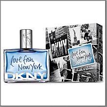 Donna Karan Love From New York for Men туалетна вода 100 ml. (Донна Каран Лав Фром Нью Йорк фо Мен)