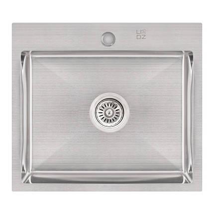 Кухонная мойка Lidz H5045 Brush 3.0/1.0 мм (LIDZH5045BRU3010), фото 2