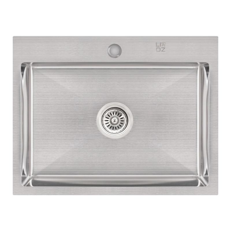 Кухонная мойка Lidz H5845 Brush 3.0/1.0 мм (LIDZH5845BRU3010)