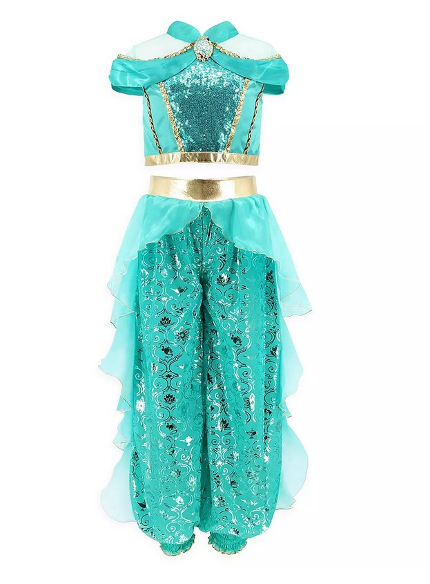 Детский карнавальный костюм Жасмин - принцесса из Аладдина. Jasmine Costume for Kids – Aladdin