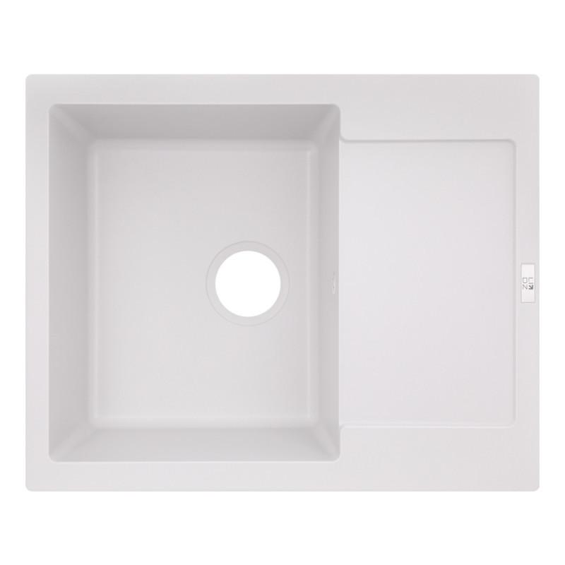Кухонная мойка Lidz 625x500/200 WHI-01 (LIDZWHI01625500200)