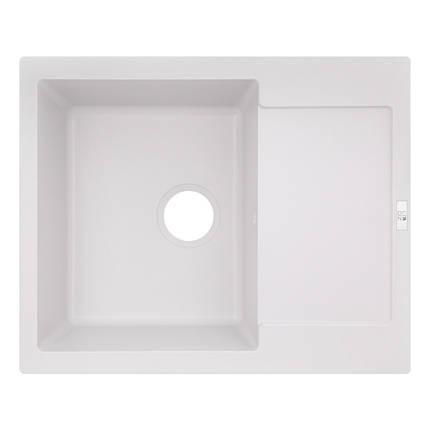 Кухонная мойка Lidz 625x500/200 WHI-01 (LIDZWHI01625500200), фото 2