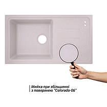 Кухонная мойка Lidz 780x435/200 COL-06 (LIDZCOL06780435200), фото 3