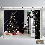 Банер 2х2, новорічний. Друк банера |Фотозона|Замовити банер|З Днем народже, фото 8