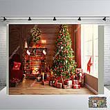 Банер 2х2, новорічний. Друк банера |Фотозона|Замовити банер|З Днем народже, фото 9