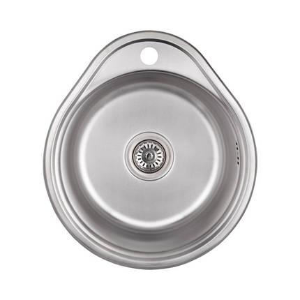 Кухонная мойка Lidz 4843 Decor 0,6 мм (LIDZ484306DEC), фото 2