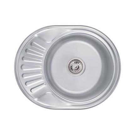 Кухонная мойка Lidz 5745 Decor 0,6 мм (LIDZ574506DEC), фото 2