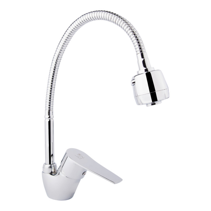 Смеситель для кухни с рефлекторным изливом Lidz (CRM)-20 38 008 04