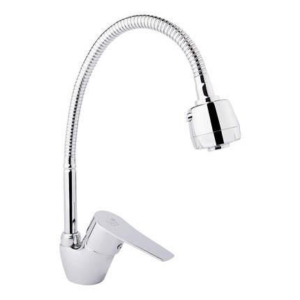 Смеситель для кухни с рефлекторным изливом Lidz (CRM)-20 38 008 04, фото 2