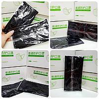 Маска 4-х шарова з активованим вугіллям 50 шт в упаковці, фото 1