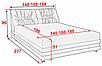 Кровать 180 Азалия Алiс-М, фото 4
