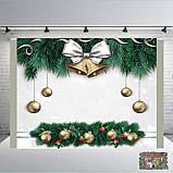 Банер 2х2, новорічний. Друк банера  Фотозона Замовити банер З Днем народже, фото 5