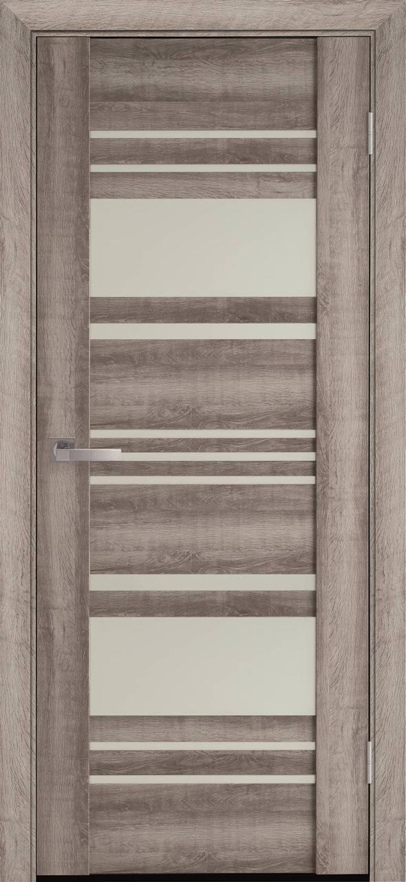"""Дверь межкомнатная """"Новый Стиль"""" модель Ницца, бук баварский (со стеклом)"""
