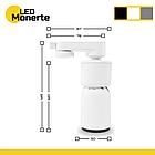 Трековий світильник PHANTOM Smart COB LED 4000К 12W, фото 3