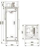 Холодильный шкаф Polair CM107-S, объем 700л, фото 2