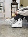 Женские ботинки Dr.Martens  белые(копия), фото 9