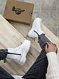 Женские ботинки Dr.Martens  белые(копия), фото 2