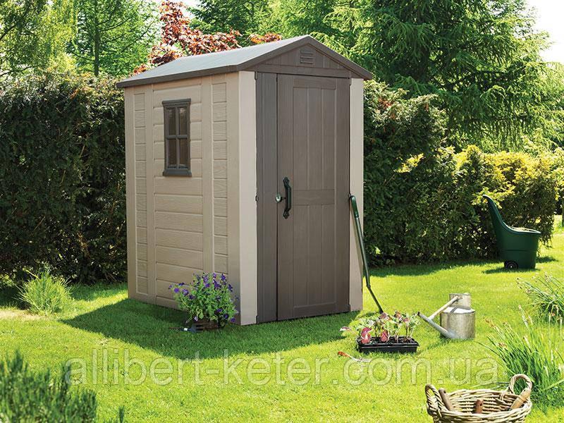 Садовый домик сарай Keter Factor 4x6 Shed