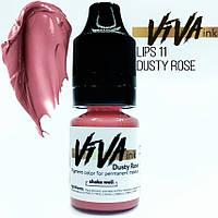 Пигмент Viva Lips 11 для перманетного макияжа (6 мл.)