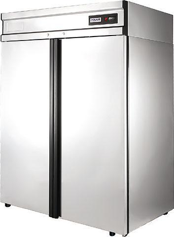 Холодильный шкаф Polair CМ110-G из нержавеющей стали объём 1000 л.