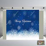 Банер 2х2, новорічний. Печать баннера |Фотозона|Замовити банер|З Днем народже, фото 4