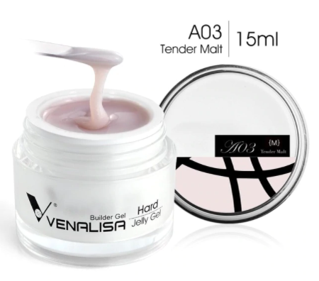 Гель желе Venalisa №A03 Tender Malt, 15 мл