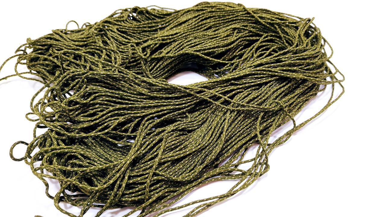Лидкор LeadCore 45lb со свинцовым сердечником , размотка 100 метров. Цвет песочно-зеленый пунктир