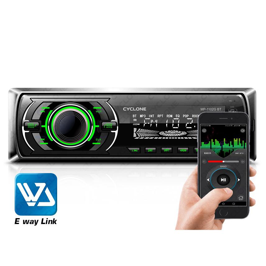 Автомагнитола MP3 проигрыватель CYCLONE MP-1102G BA