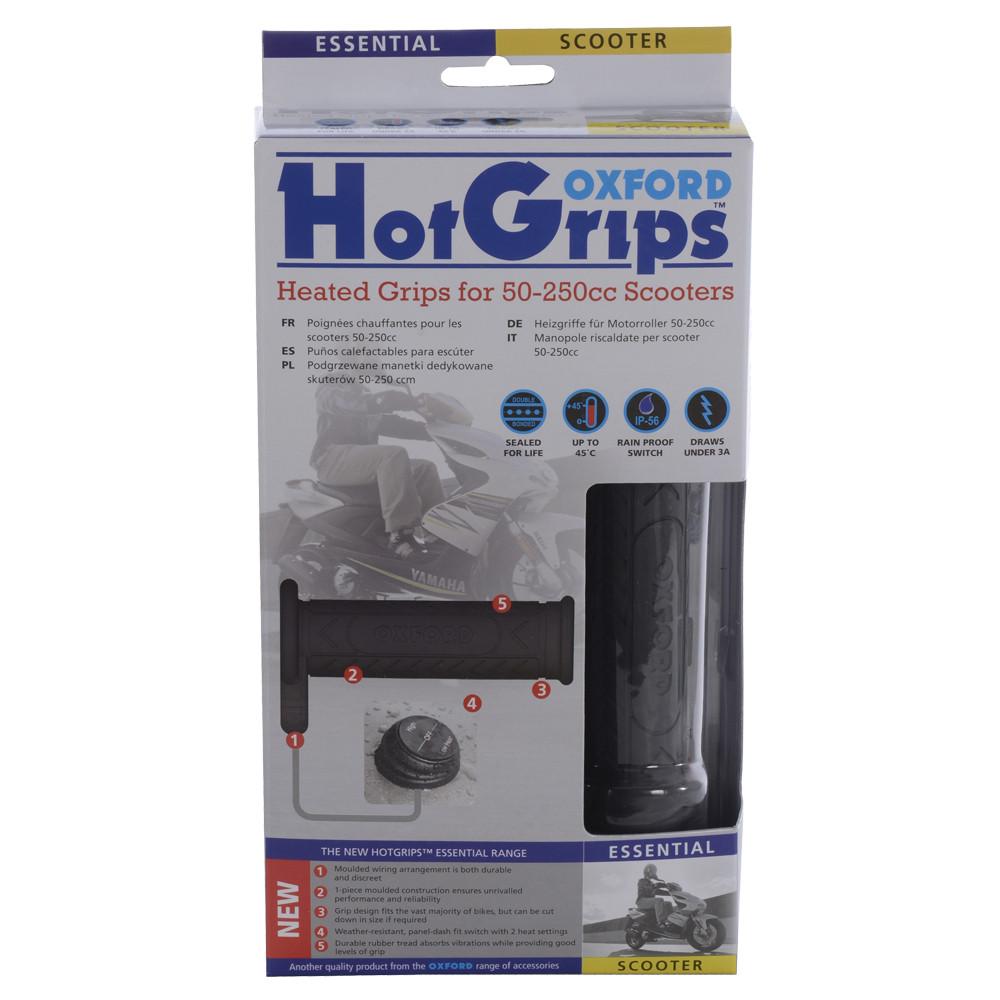 Ручки з підігрівом Oxford HotGrips Essential Scooter OF772