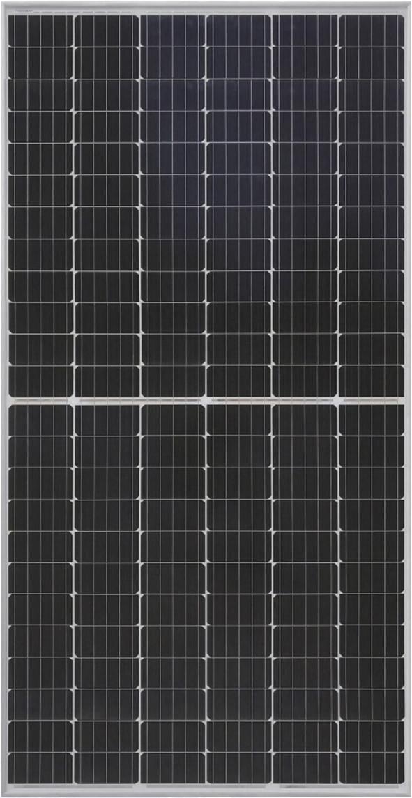 Солнечная батарея British Solar 385 Вт 24 В монокристаллическая PERC Half cell Double Glass
