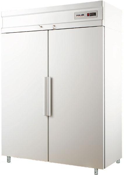 Холодильна шафа Polair CM114-S обсяг 1400л