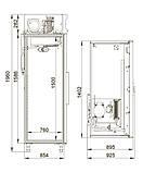 Холодильна шафа Polair CM114-S обсяг 1400л, фото 2