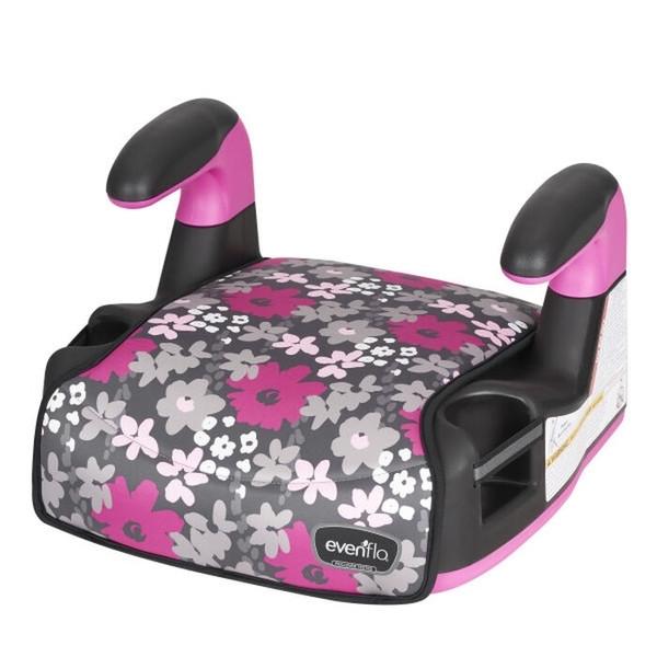 Автокресло-бустер Evenflo Amp Big Kid Pink (2/3), розовый