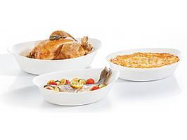 Набор форм овальных стеклянных  Smart Cuisine 3шт для запекания