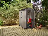Садовый домик сарай Keter Factor 4x6 Shed, фото 8