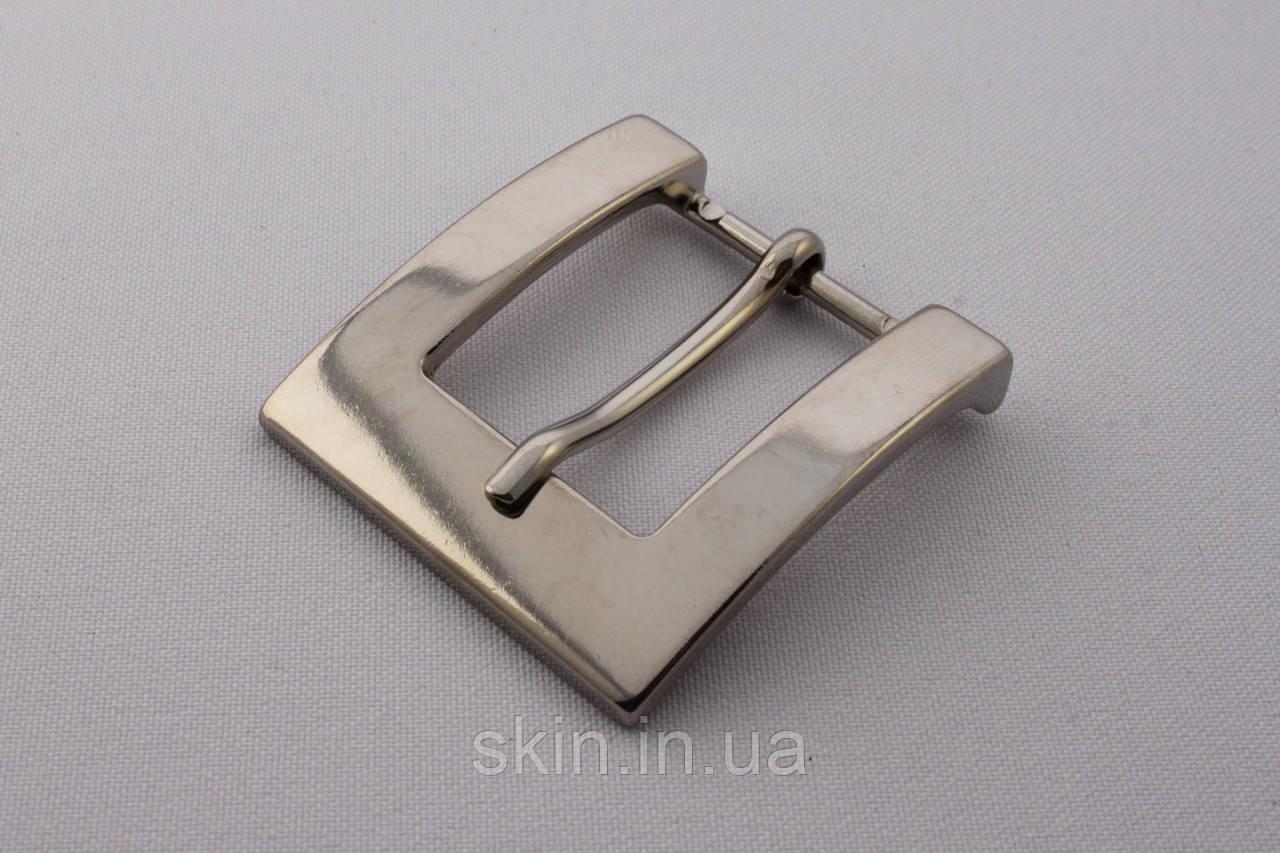Пряжка ременная, ширина - 25 мм, цвет - никель, артикул СК 5693