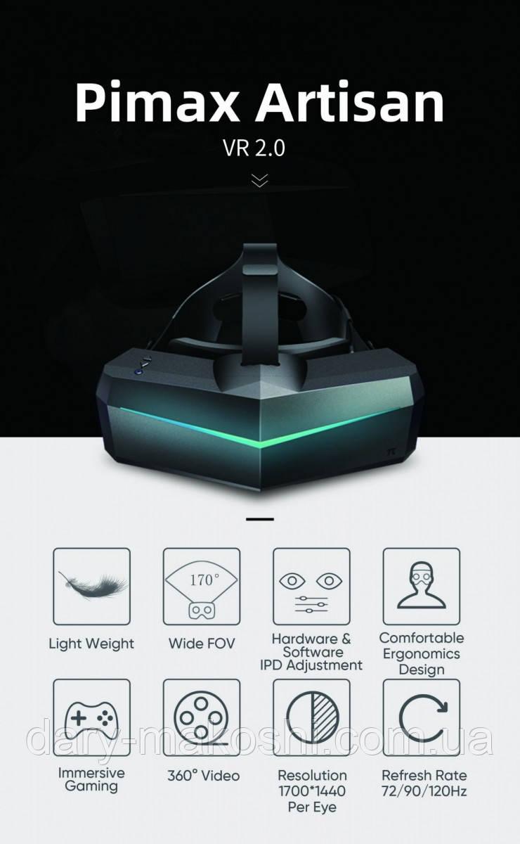 Очки виртуальной реальности Pimax Artisan для комнаты Психологической разгрузки