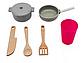 Кухня детская деревянная Avko Diana кухня дитяча + посуда, фото 2