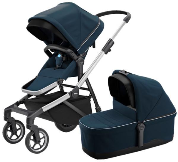 Универсальная коляска Thule Sleek, синий (TH 11000010)