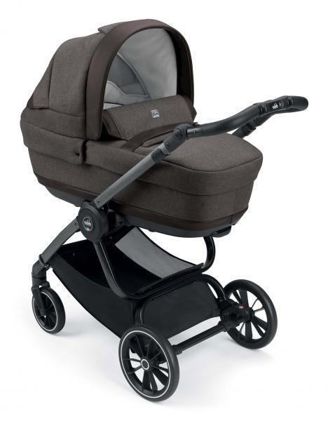 Универсальная коляска CAM 2 в 1 Techno Joy, коричневый с серым (805T/V99/974/506K)