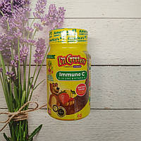 Lil Critters Immune C plus Zinc & Vitamin D vitamin for kids, витамины для детей 60 gummies, фото 1