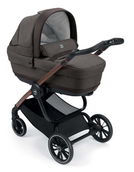 Универсальная коляска CAM 2 в 1 Techno Joy, коричневый (805T/V96/974/506K)