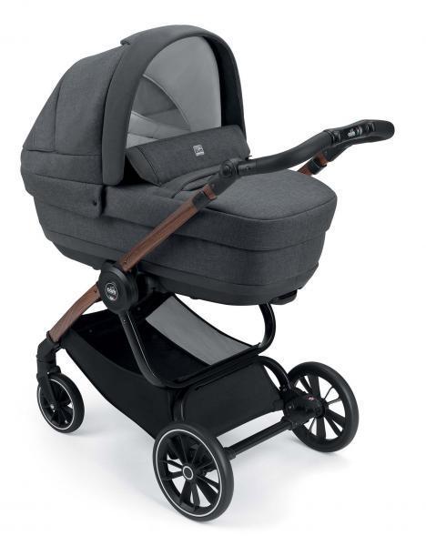 Универсальная коляска CAM 2 в 1 Techno Joy, серый (805T/V96/974/505K)