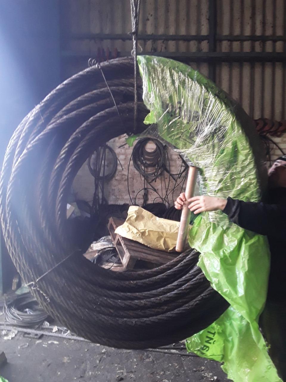 Канат стальной диаметром 18 мм ГОСТ 2688-80