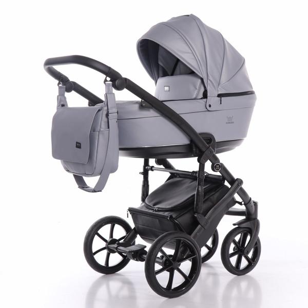 Универсальная коляска 2 в 1 Tako Corona Eco 04, серый (T-CoE-04)