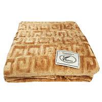 Плед Koloco бамбуковый 180*210 песочный