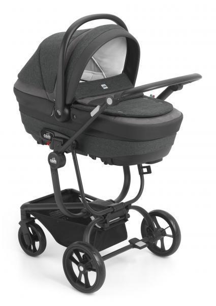 Универсальная коляска Cam 3 в 1 Taski Fashion, темно-серый (912/794)